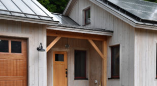 Energy Efficient Unity Homes, Xyla design, entrance