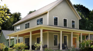 Energy Efficient Unity Home, Varm design at Dartmouth College