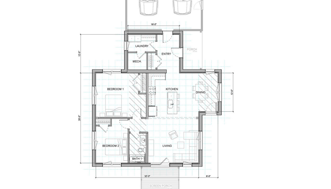 Unity Homes Floor Plans: Xyla 332A 2832