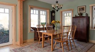 Unity Homes Tradd design, dining room