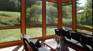 Energy Efficient Unity Homes, Xyla design, screened porch
