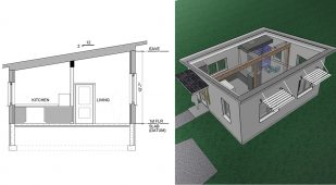 Unity Homes, Nano - tiny home design