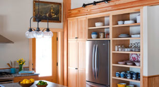 Unity Xyla Chebeague Island, Maine, kitchen