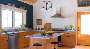 Energy Efficient Unity Home, Xyla design in Maine