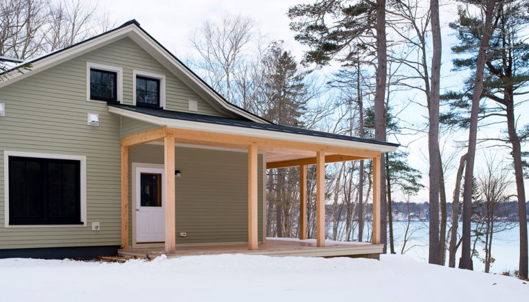 Unity Homes Xyla design in Chebeague Maine