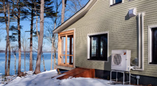 Unity Homes Xyla in Maine, exterior